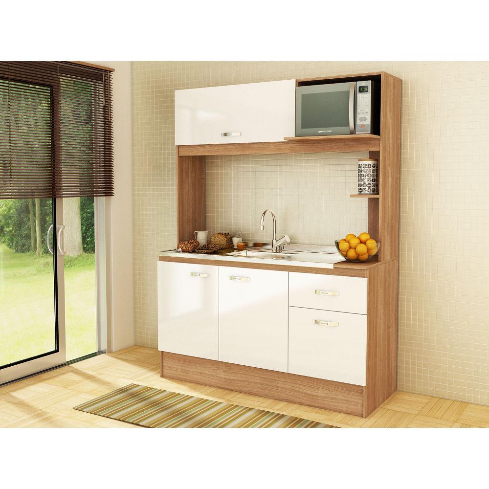 Cozinha compacta Nina Fellicci  LojasCertel # Cozinha Compacta Florata Fellicci