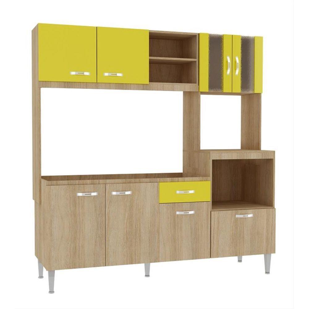 Cozinha Compacta Tati CC70 Fellicci  LojasCertel # Cozinha Compacta Florata Fellicci