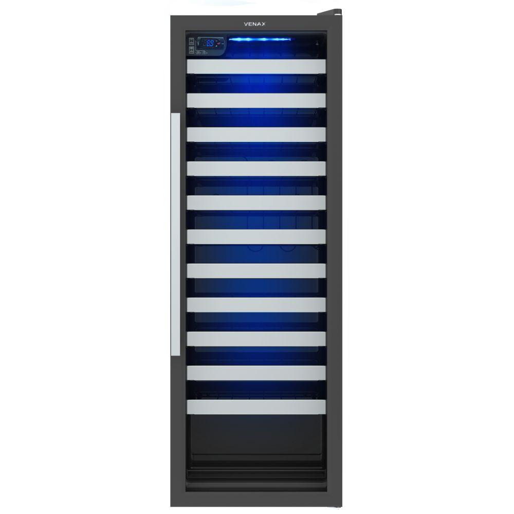 Geladeira/refrigerador 200 Litros 1 Portas Preto Champanheira - Venax - 110v