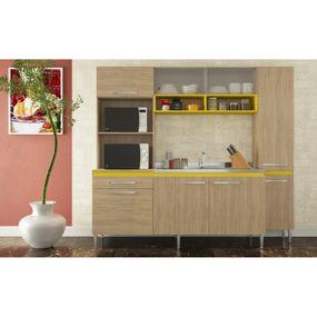 Cozinha-Gralar-Versatile-Amarela