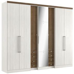 Roupeiro-Absolut-Plus-Glass-7-Portas-THB-Moveis---Teka-Sensitive-e-Carvalho-over