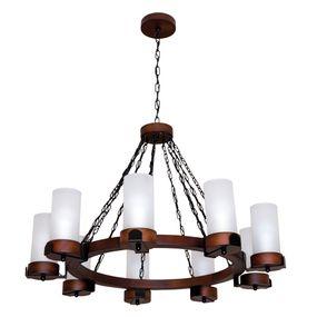 Lustre-Country-Envelhecido-para-9-lampadas-1109E-Luminarias-Muller