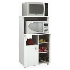 Balcao-Fruteira-1-Porta-e-Microondas-BF3204---Tecnomobili---Branco