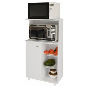 Balcao-Fruteira-1-Porta-e-Microondas-BF3207---Tecnomobili---Branco