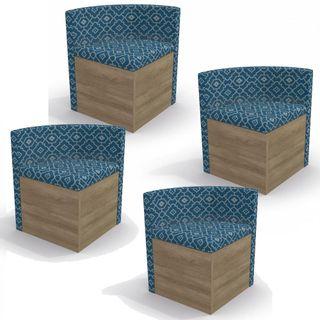 Conjunto-Cadeira-Triangular-Estofada-para-Sala-de-Jantar-Kappesberg-CAD108-Nogal-Azul-e-Bege
