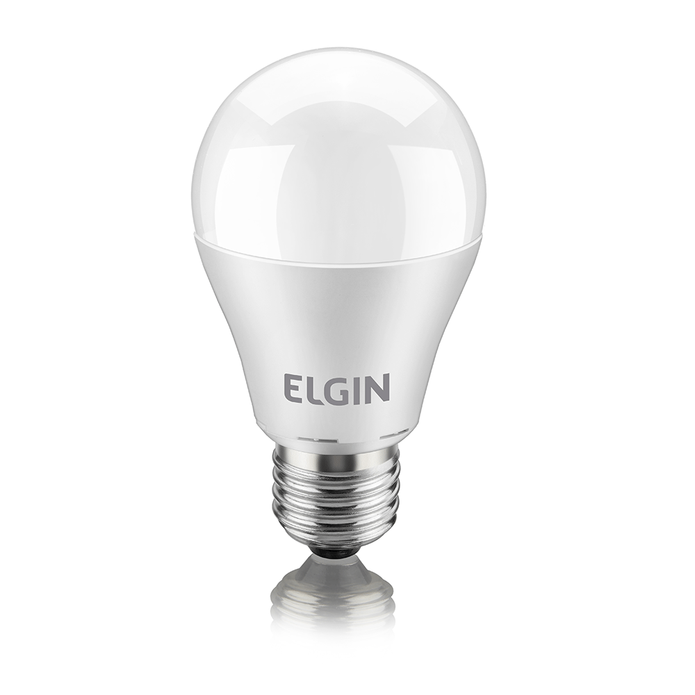 L mpada de led bulbo a60 elgin lojascertel for Lampada led 50 watt