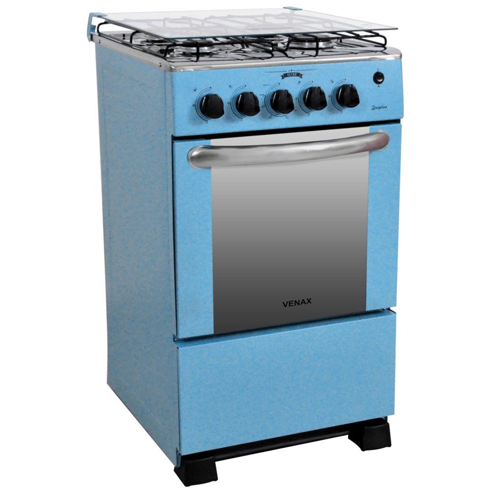 Fogao-a-Gas-Del-Plus-Vetro-GII-4-Bocas-Venax-Azul-01