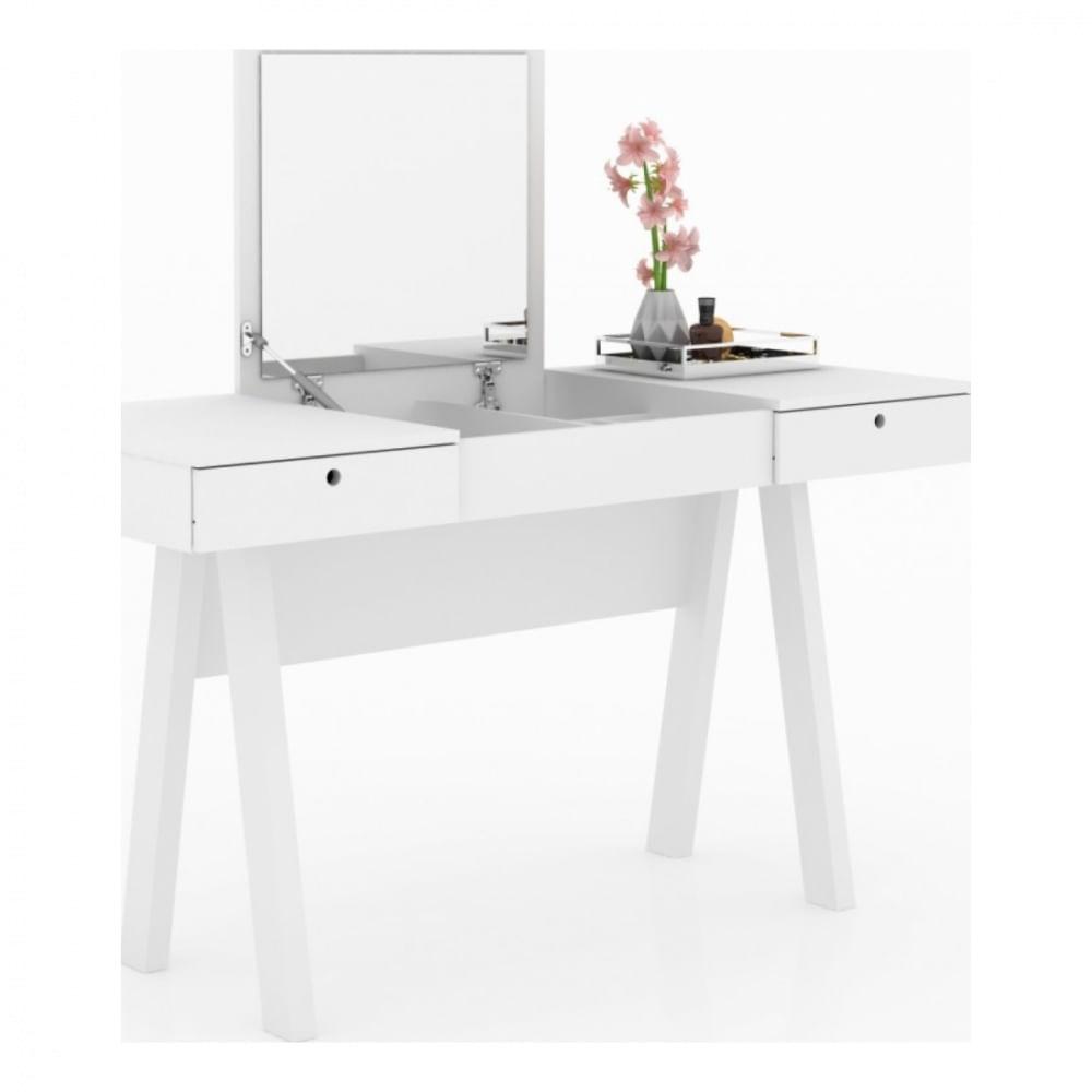 Penteadeira-Escrivaninha-PE2002---Tecnomobili---Branco