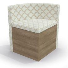 Cadeira-Triangular-Estofada-para-Sala-de-Jantar-Kappesberg-CAD108---Nogal-Bege-e-Nude