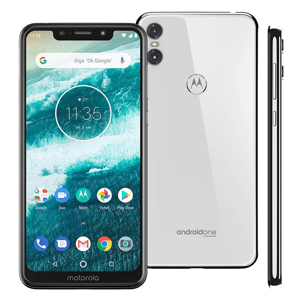 9cecb3e8e Smartphone Motorola One 64GB 59 Cmera Dupla 13MP Preto