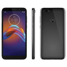 """Smartphone-Motorola-E6-Play-32GB-4G-2GB-RAM-Tela-55""""-Cam.-13MP---Cam.-Selfie-5MP"""