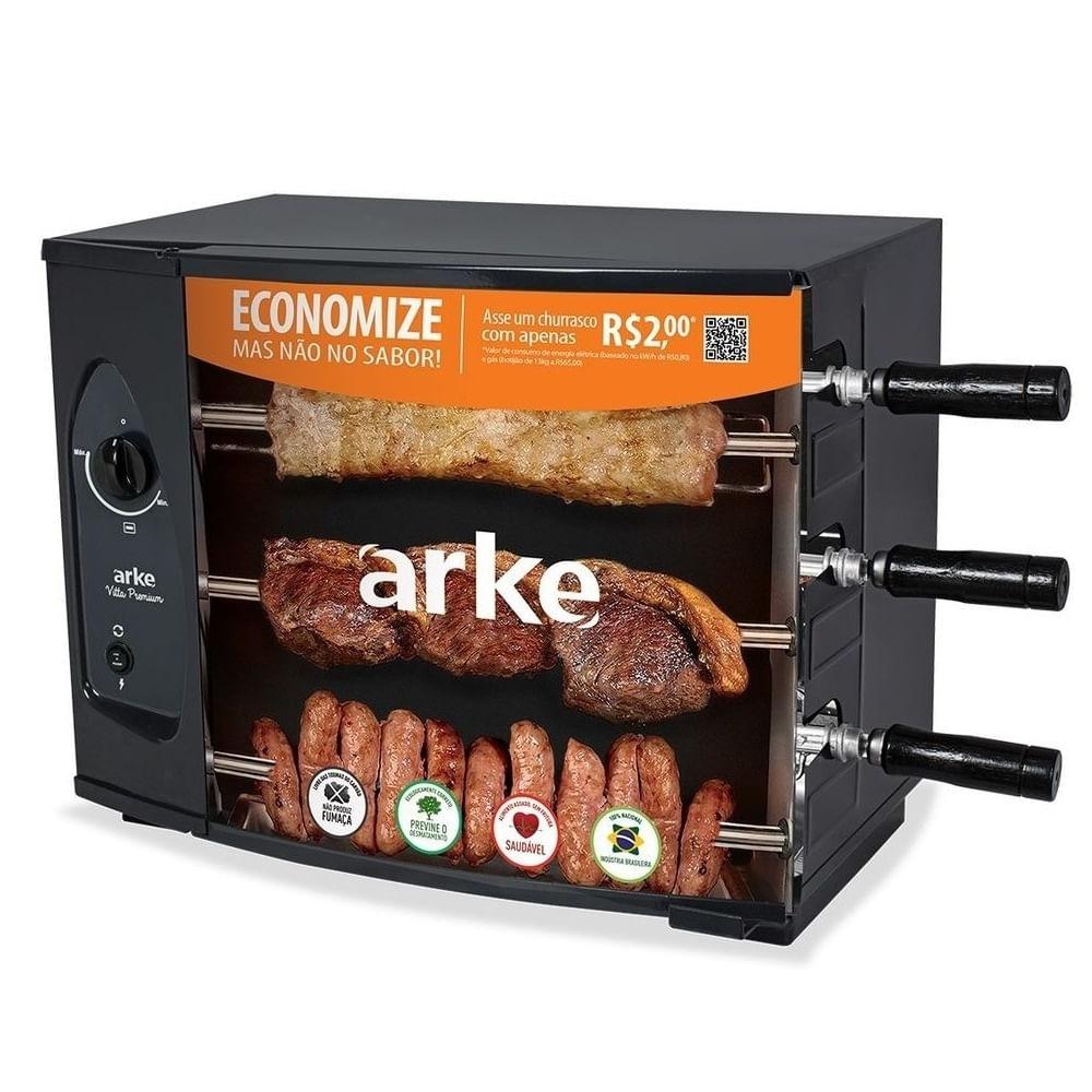 Churrasqueira-Eletrica-Arke-Vitta-Smart-3-Espetos-Rotativo-220V-1