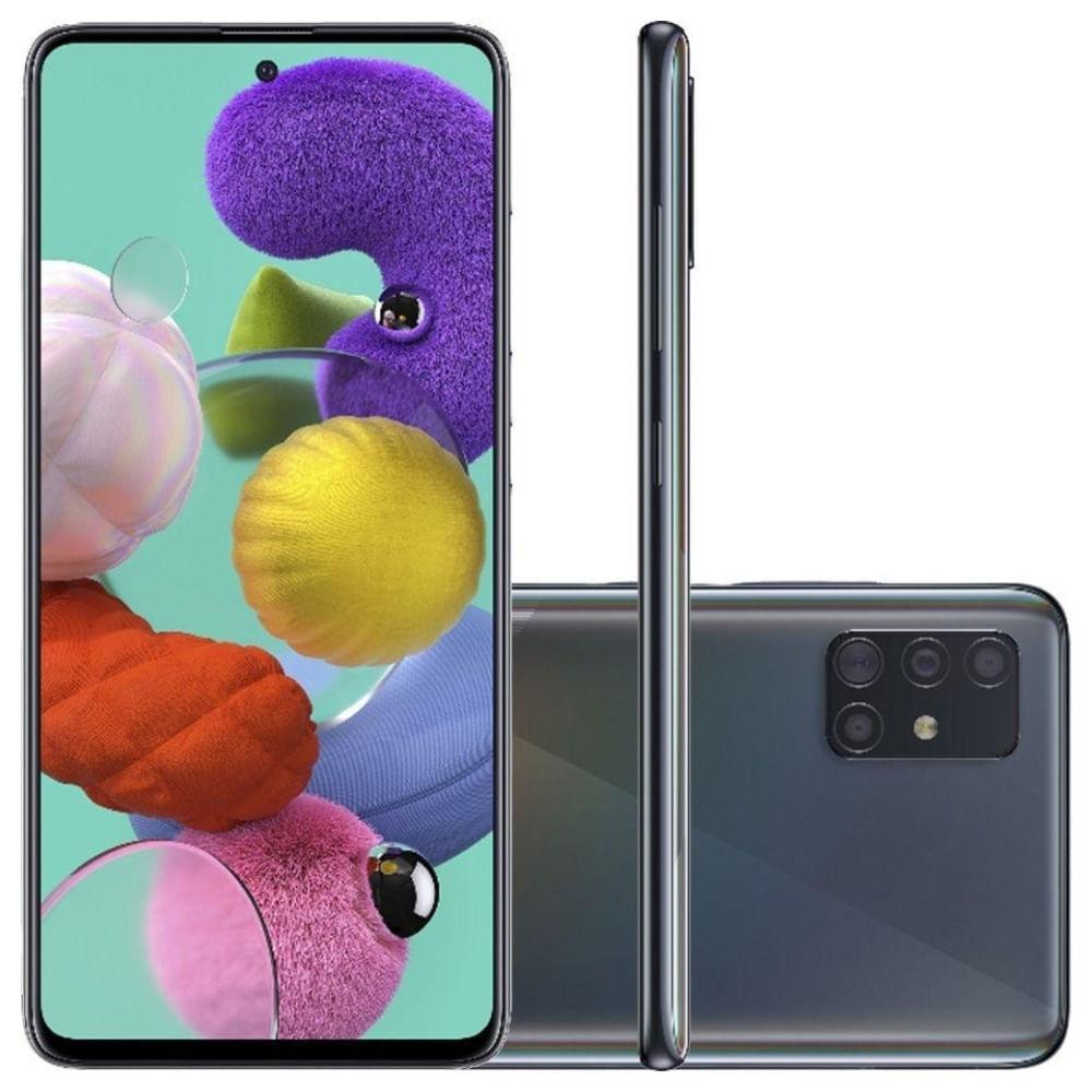 Smartphone-Samsung-Galaxy-A51-128GB-Preto-4G-Tela-6.5-Pol.-Camera-Quadrupla-48MP-Selfie-32MP-Android-10.0-1