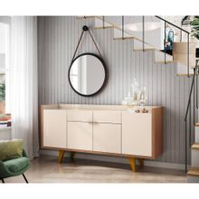 Aparador-Buffet-Hd-moveis-Melodia-8033-Freijo-Off-white