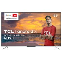 """Smart-TV-4K-QLED-55""""-TCL-C715-Android-Wi-Fi-Bluetooth-HDR-3-HDMI-2-USB-3"""