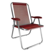 Cadeira-de-praia-Max-Zaka-aluminio-Vermelha-01