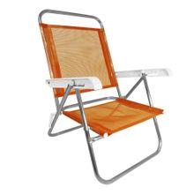 Cadeira-de-praia-reclinavel-Pop-Zaka-aluminio-Laranja--01