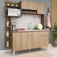 Cozinha-Compacta-Sofia-5-portas-Fellicci-Teka-Carvalho-01